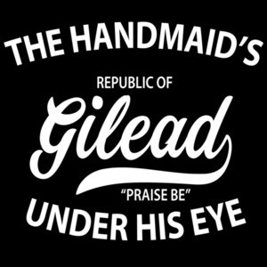 "The handmaid's tale republic of Gilead ""Praise me"" Under his eye - The handmaid's tale t-shirt"