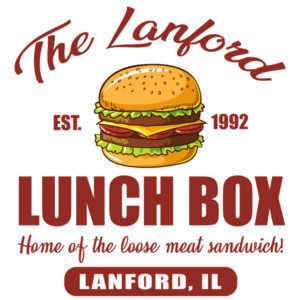The Lanford Lunch Box - Home of the loose meat sandwich - Roseanne 80's T-Shirt