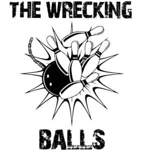 The Wrecking Balls - Funny Bowling League T-Shirt