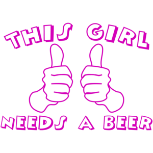 This Girl Needs A Beer Funny Shirt