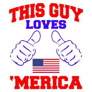This Guy Loves Merica T-Shirt