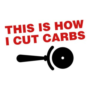 This Is How I Cut Carbs Pizza T-Shirt