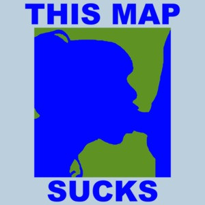 This Map Sucks Shirt