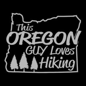 This Oregon Guy Loves Hiking T-Shirt
