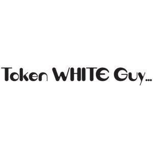 Token White Guy T-shirt