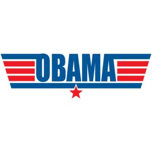 Top Gun Obama T-shirt