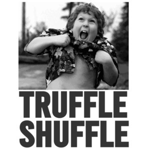 Truffle Shuffle - Chunk - The Goonies - 80's T-Shirt