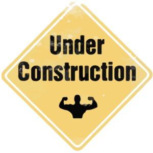 Under Construction Exercise T-Shirt
