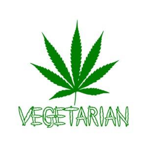Vegetarian - Weed Shirt