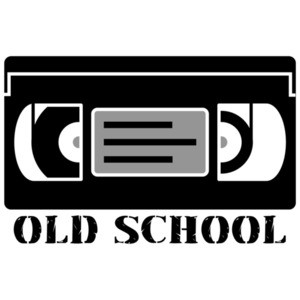 VHS - Old School T-Shirt