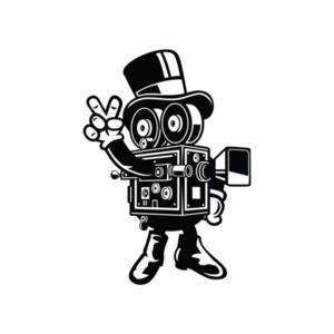 Vintage Retro Camera Man T-Shirt