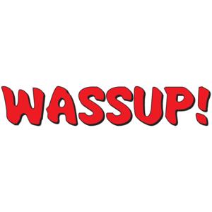 Wassup - Budweiser T-shirt