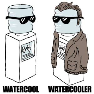 Watercool Watercooler Funny Shirt