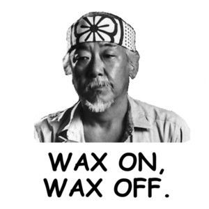 Wax On, Wax Off Karate Kid T-Shirt