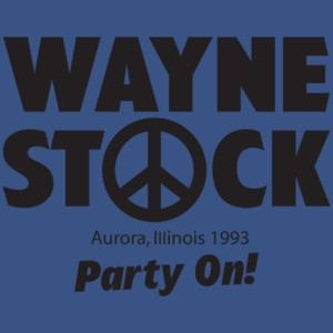 Wayne Stock - Wayne's World T-shirt