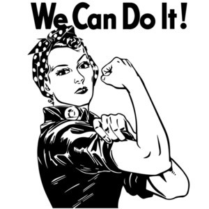 We can do it - Rosie the Riveter T-Shirt