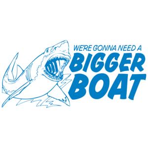 We're Gonna Need A Bigger Boat - Jaws T-Shirt