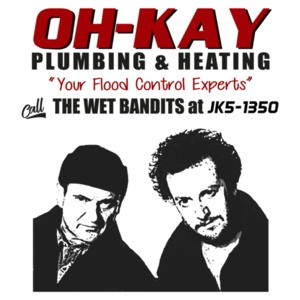 Wet Bandits - Home Alone - T-Shirt