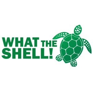 What the shell - funny turtle t-shirt