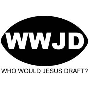 Who Would Jesus Draft - Fantasy Sports Shirt