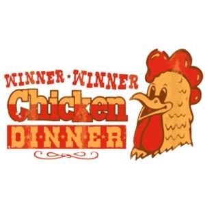 Winner Winner Chicken Dinner - Poker T-Shirt