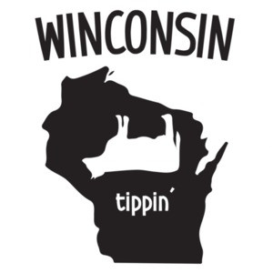 Wisconsin Cow Tippin' - Wisconsin T-Shirt