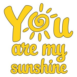 You are my sunshine - Cute Funny Mother and Daughter/Son T-Shirt