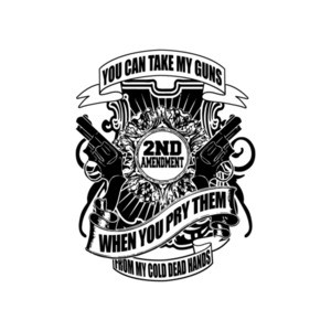You Can Take My Guns When You Pry Them From My Cold Dead Hands T-Shirt