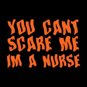 You can't scare me - halloween t-shirt