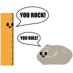 You Rock! You Rule! Pun T-Shirt