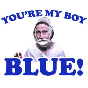 You're my boy blue - old school t-shirt - will ferell t-shirt - 2000's t-shirt