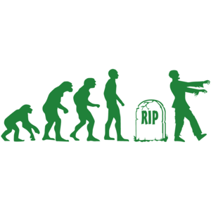 Zombie Evolution - Cool Zombie Shirt