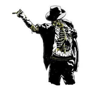 Zombie Michael Jackson King Of Pop Horror T-Shirt