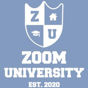 Zoom University Est 2020 - Covid-19 - Coronavirus T-Shirt