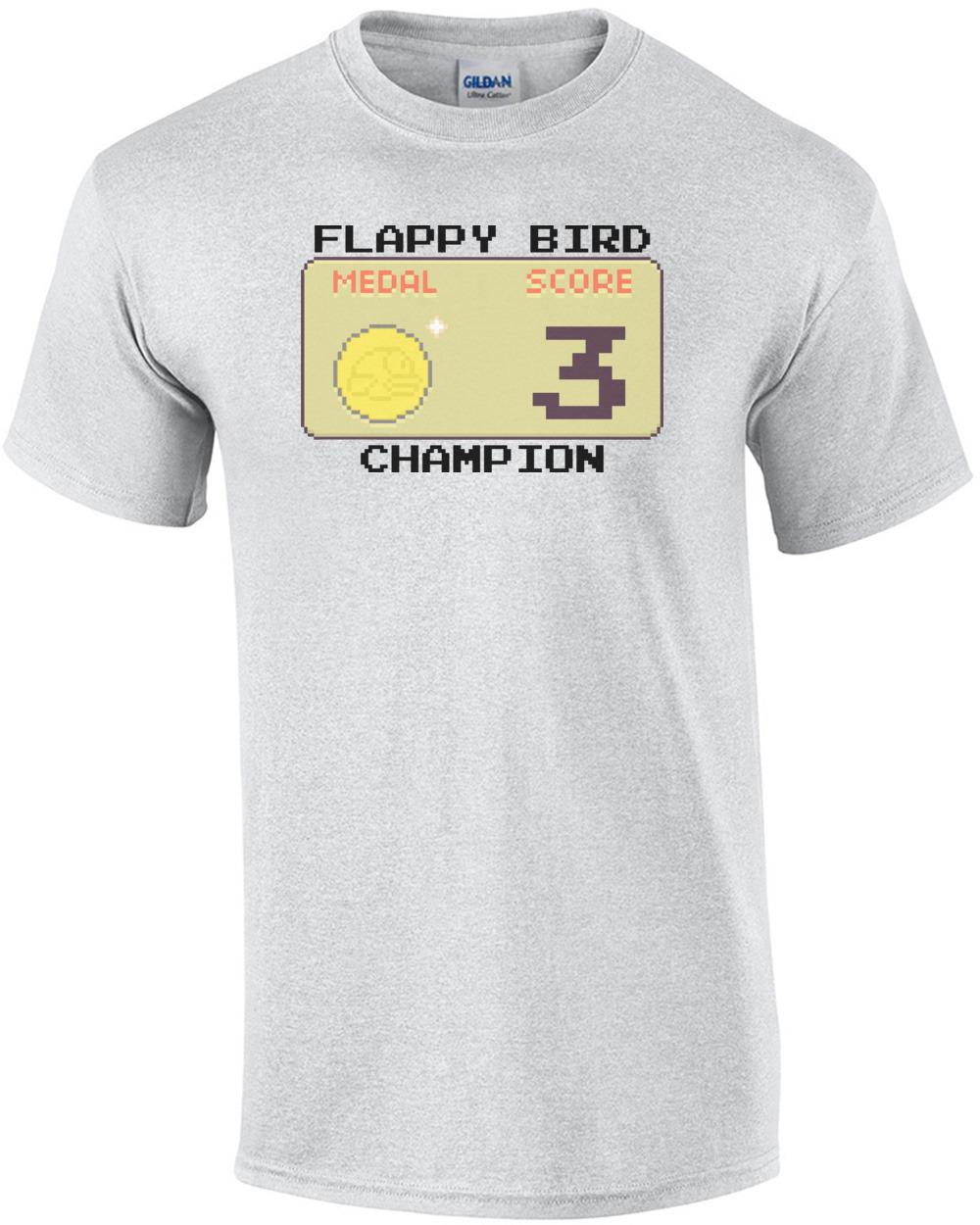 52e44b50d186 Flappy Bird Champion Shirt