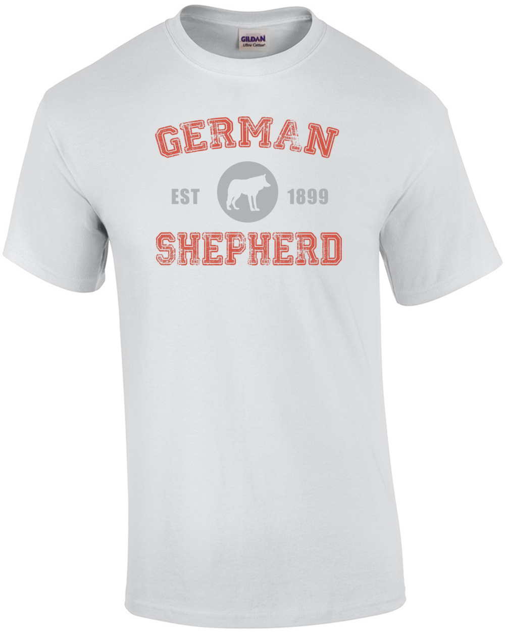 German shepherd est 1899 german shepherd t shirt geenschuldenfo Image collections