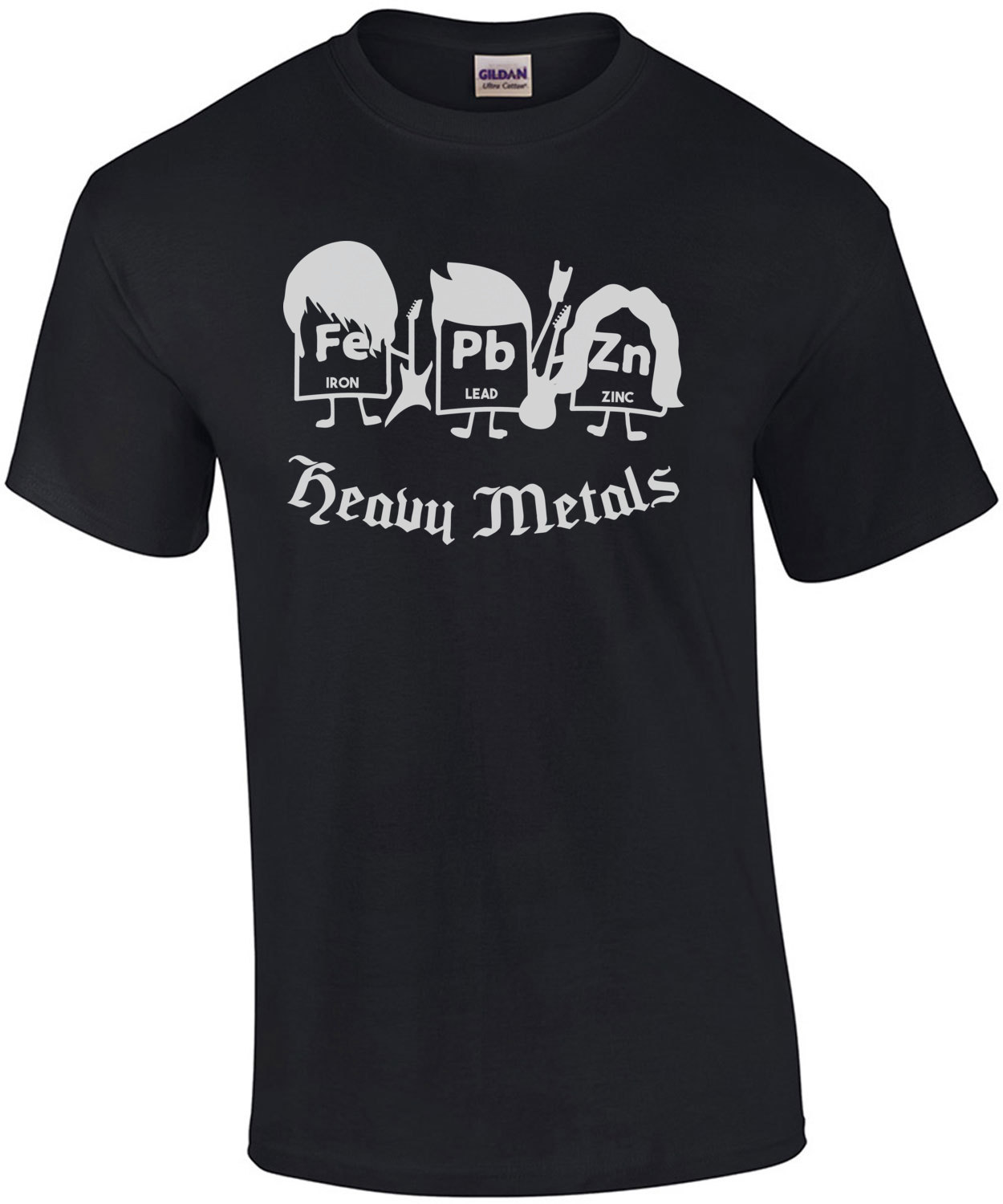 Heavy metals funny chemistry periodic table elements t shirt gamestrikefo Gallery