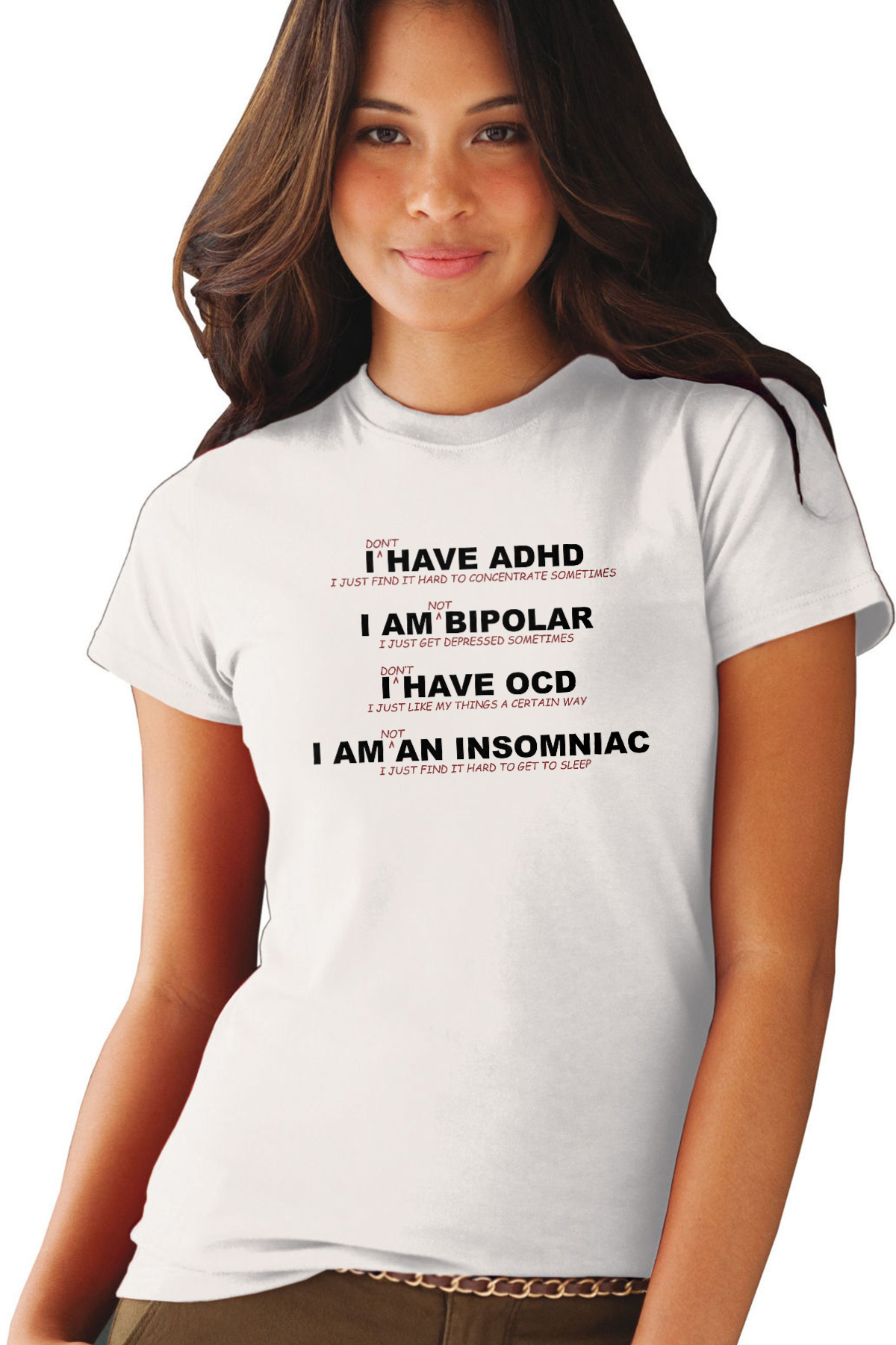 54abb078e I don't have ADHD - I just find it hard to concentrate sometimes - funny t- shirt