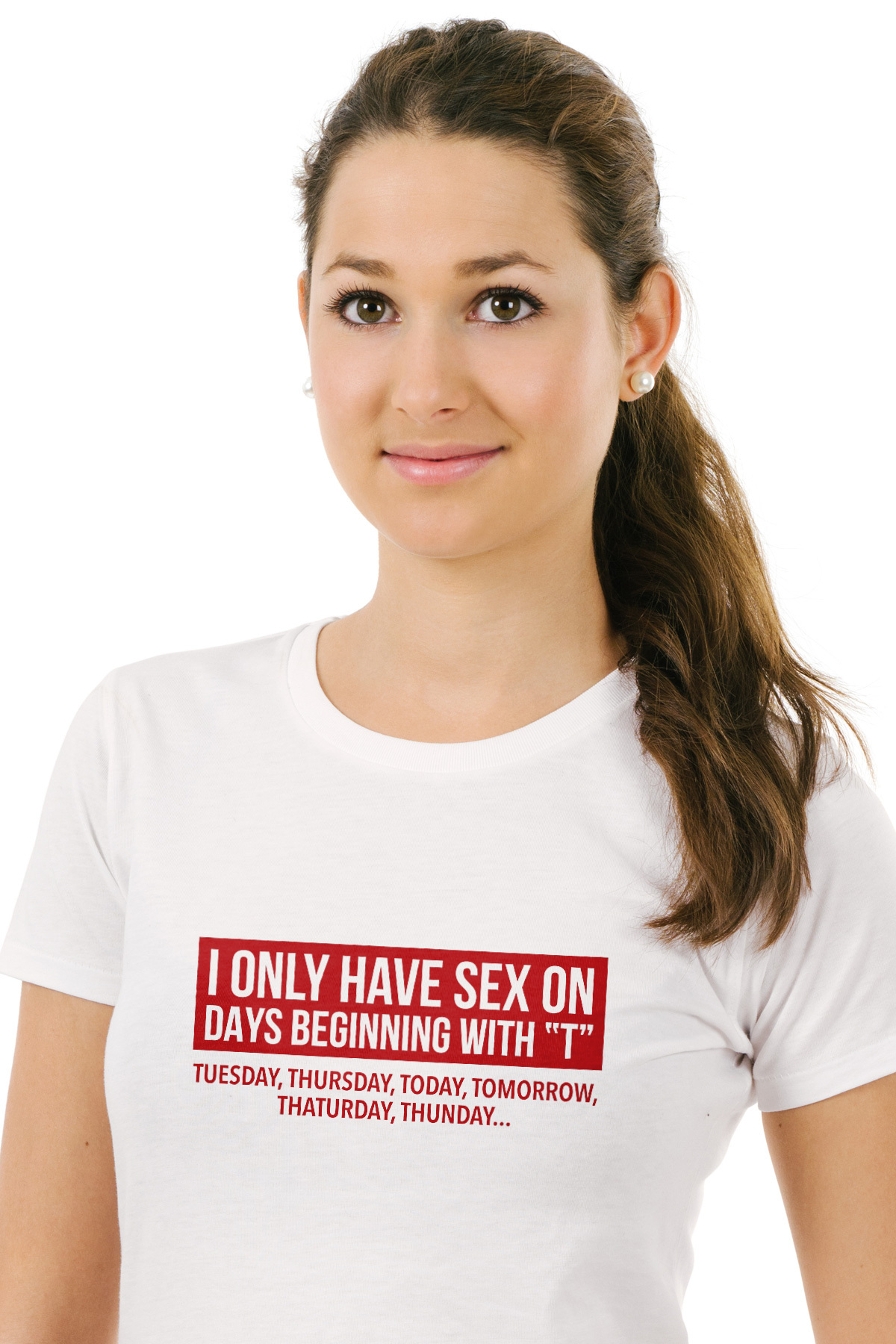 fa354ca3bb I only have sex on days begining T - Funny T-Shirt