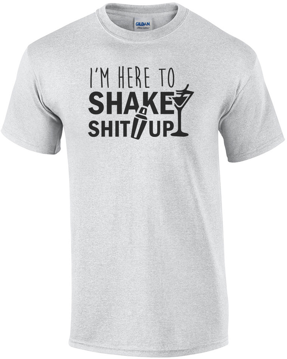 1d915151 ... i m here to shake up funny bartending bartender t shirt ...