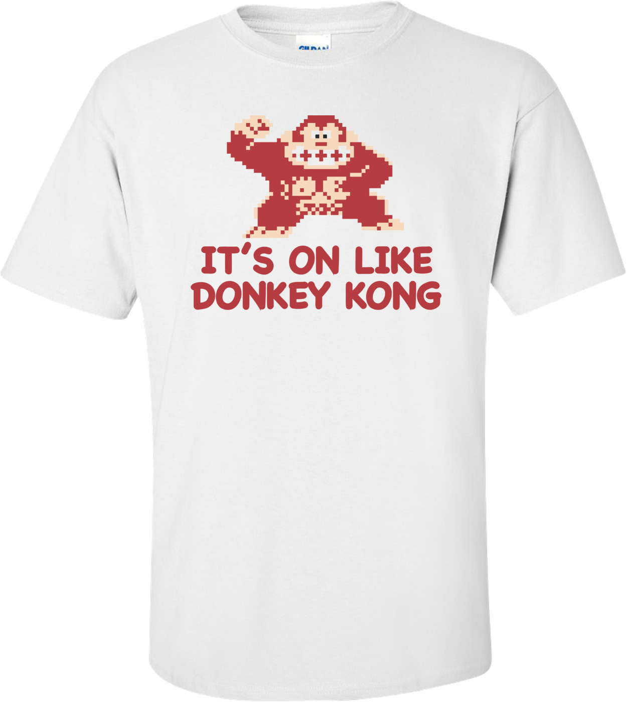 091ccce34 It's On Like Donkey Kong T-shirt