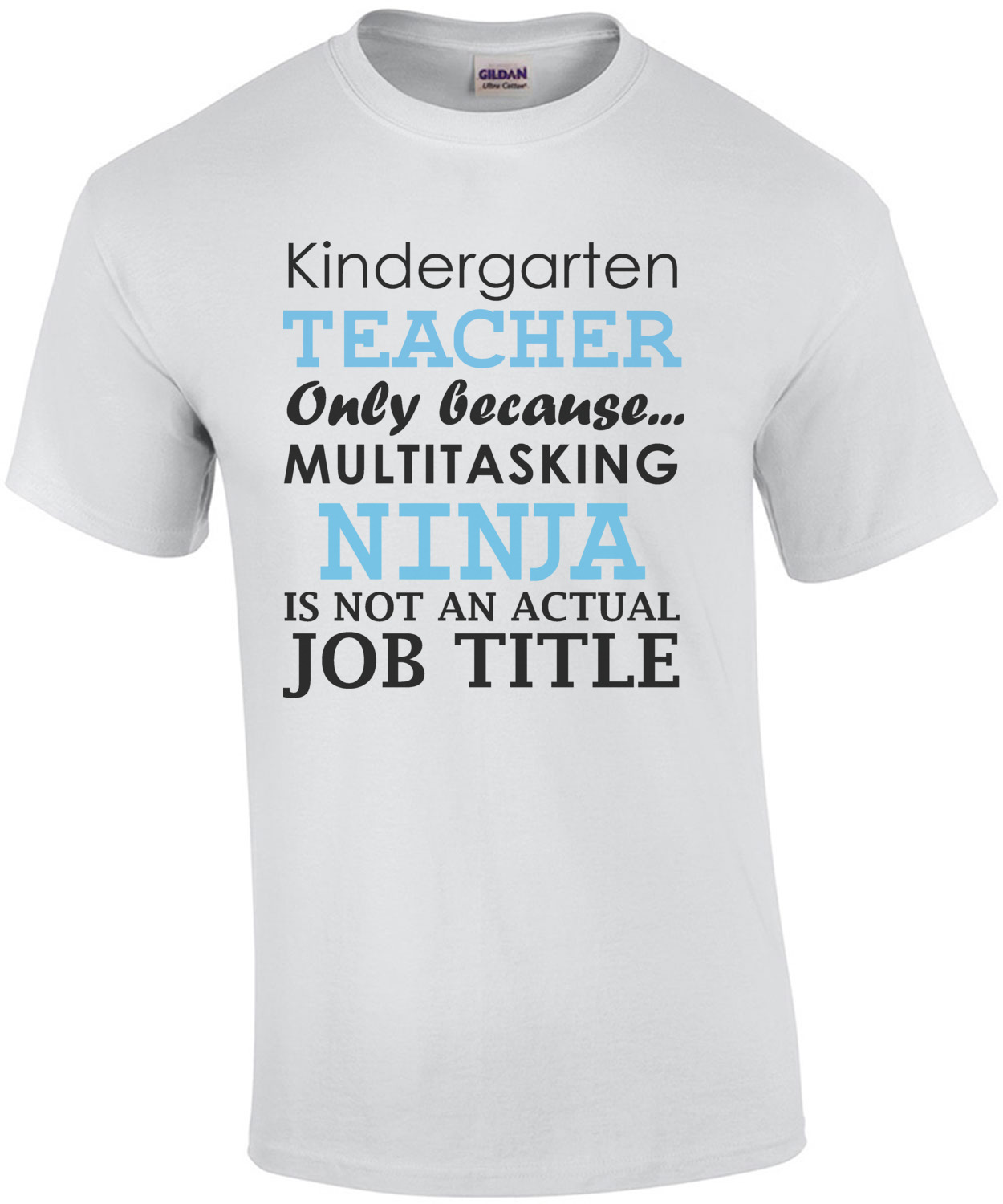 Kindergarten teacher only because multitasking ninja is not an ...