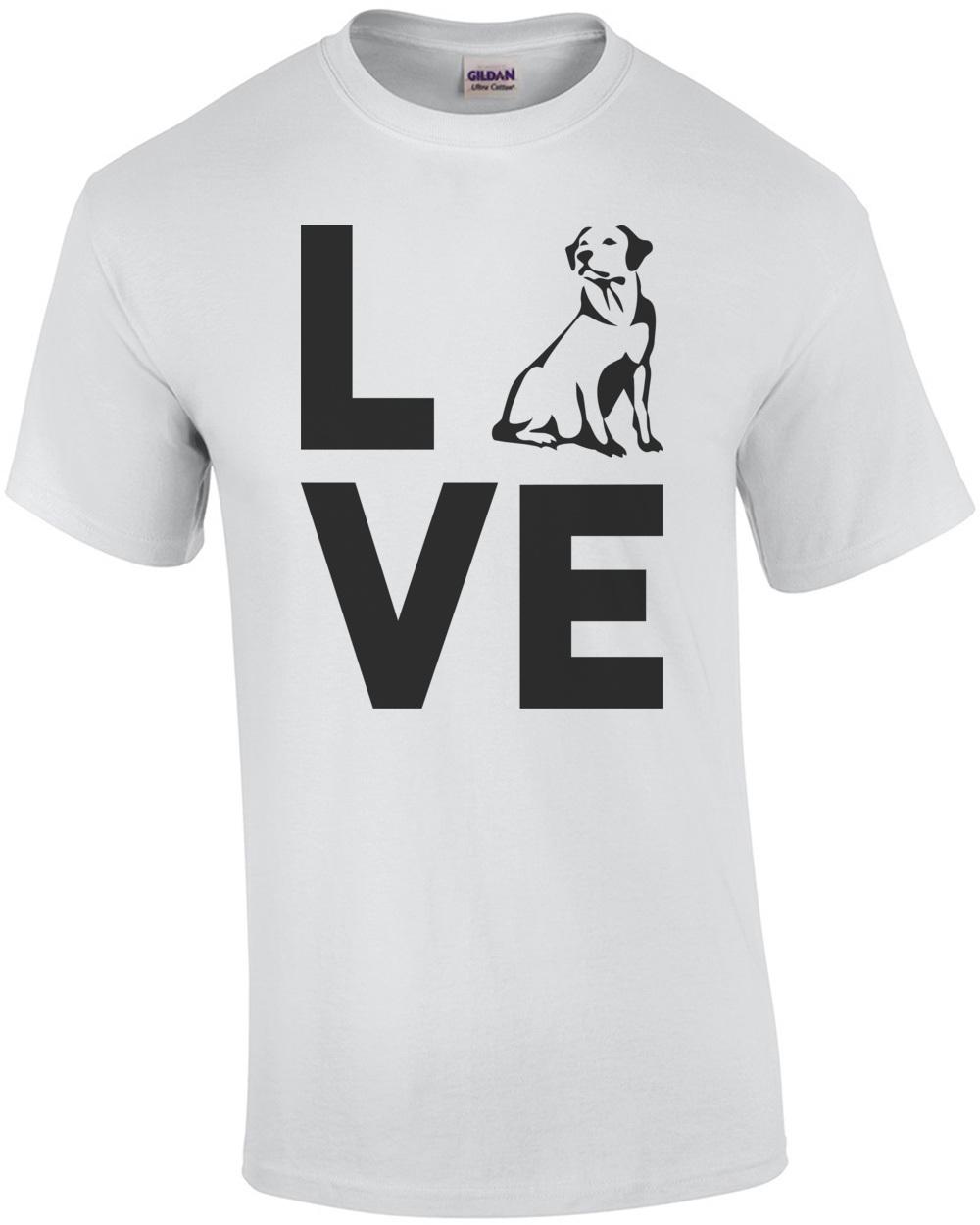 Ideal Labrador Love - Labrador T-Shirt MV63