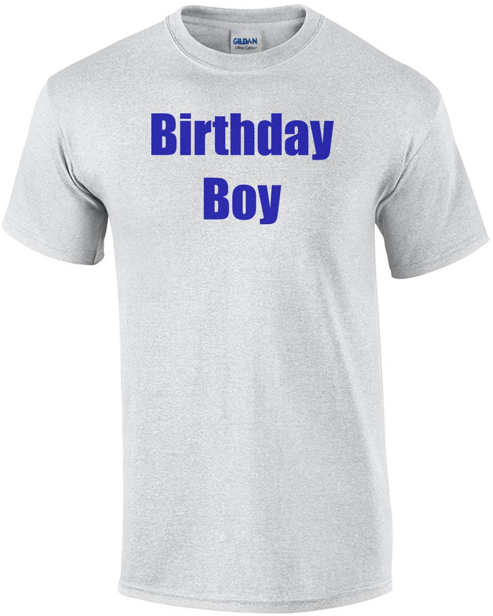 Ljp Birthdayboyhappybirthday Mens Regular Ash
