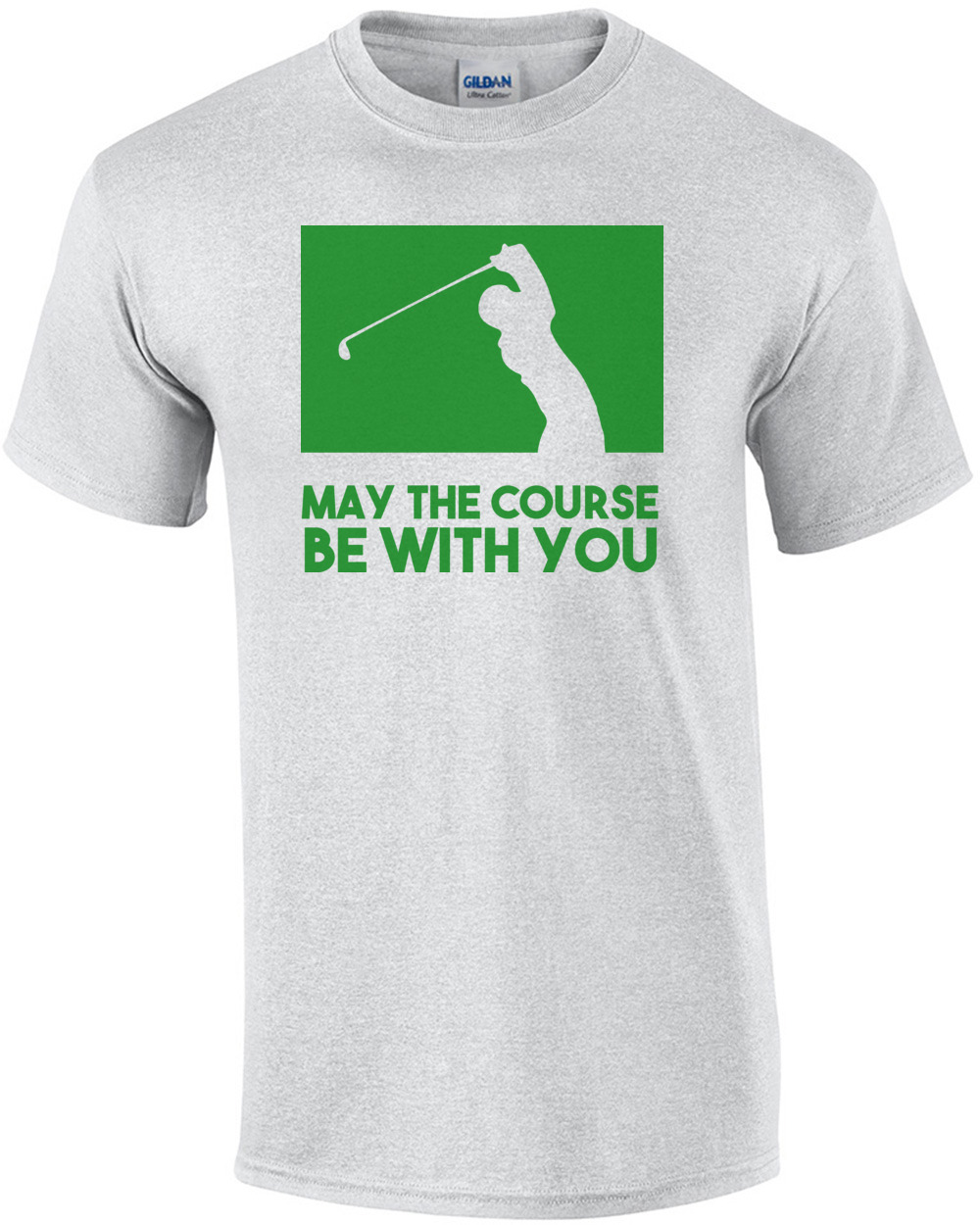 21f22a9a May the course be with you - Golf T-Shirt shirt