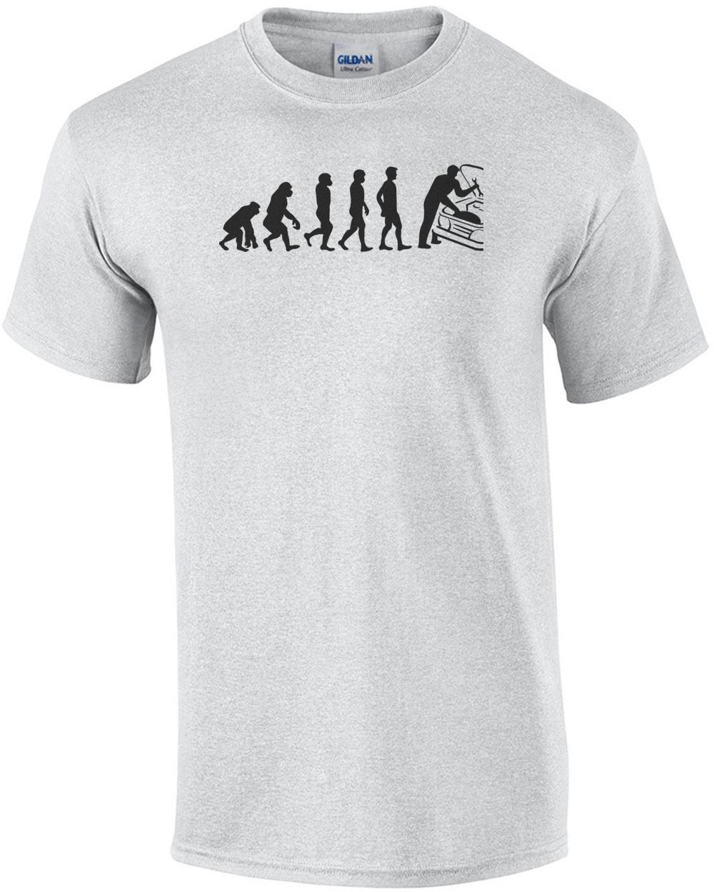 8aabe3e8e Mechanic Evolution - Funny Mechanic T-Shirt
