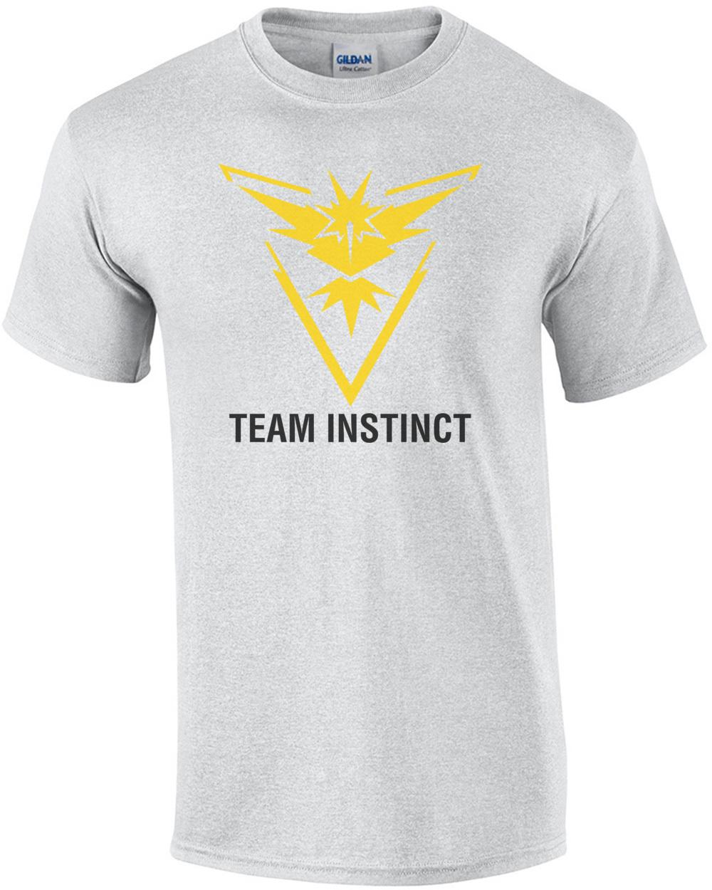57f1c932a Pokemon Go Team Instinct Shirt