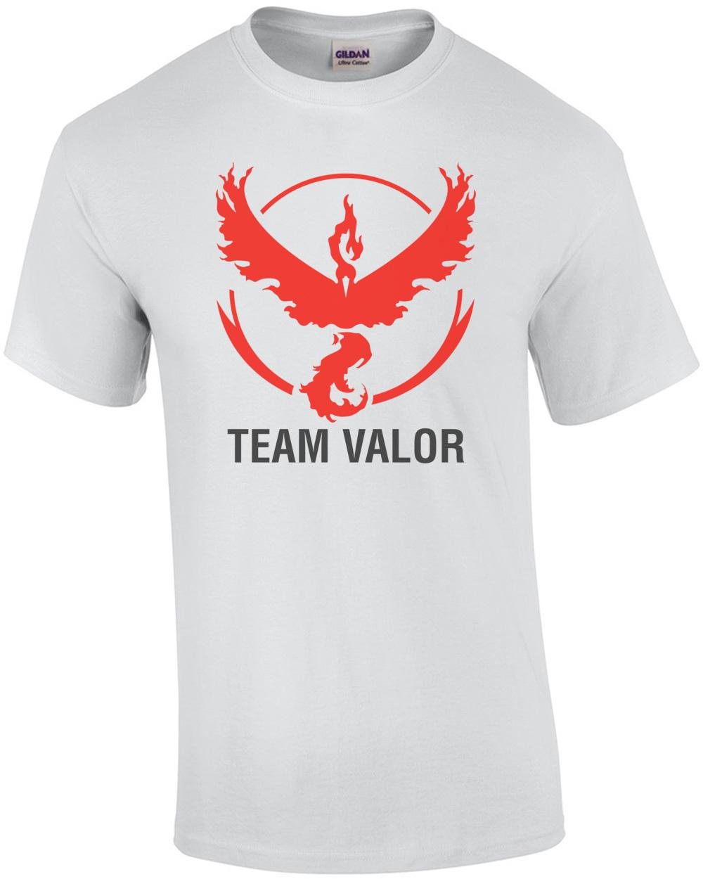 Pokemon Go Team Valor Shirt