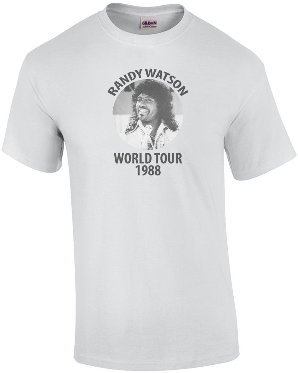 Randy watson t shirt our t shirt for No tuck golf shirts