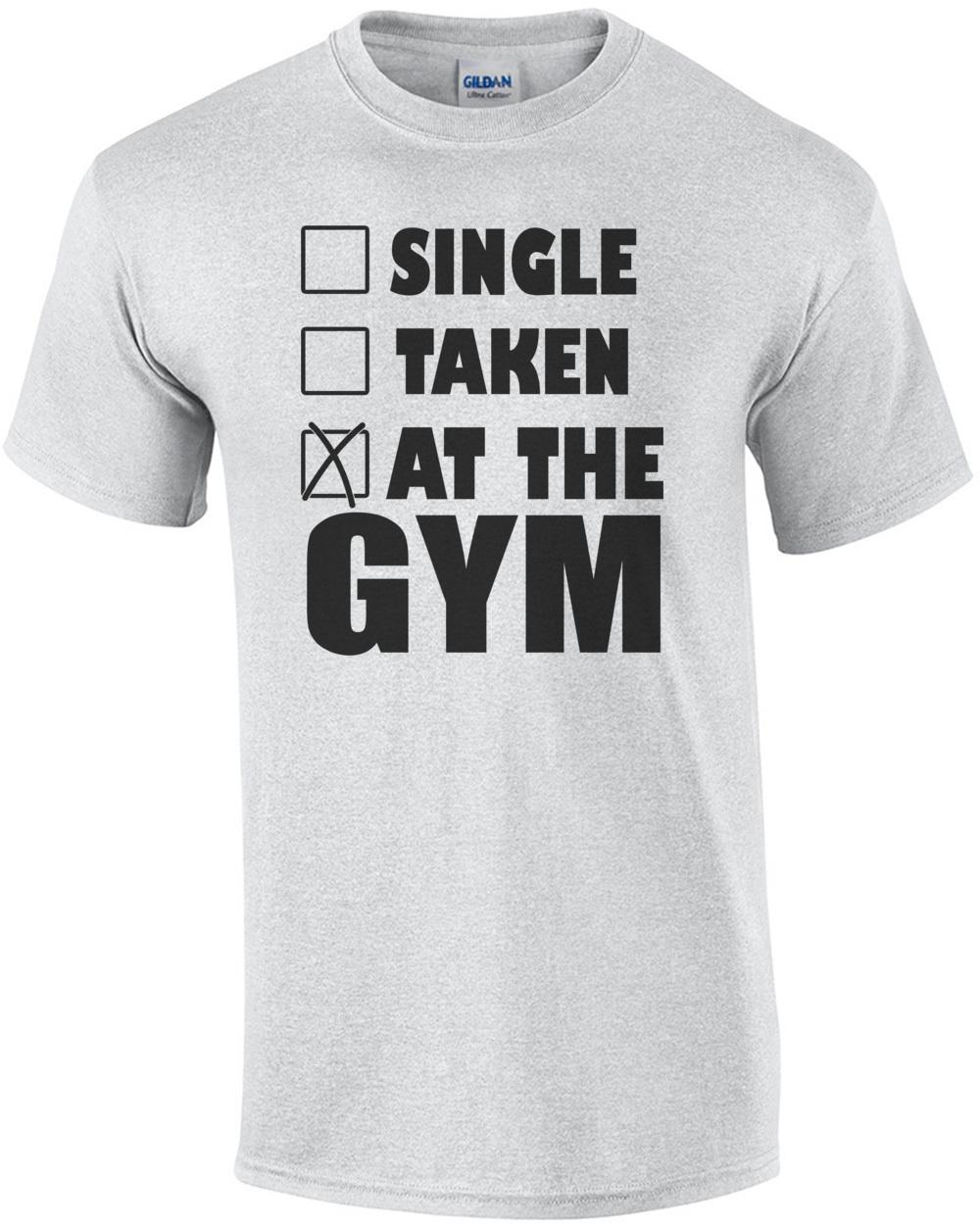 'Single, Taken, At The Gym! Training, Crossfit' Männer Premium Hoodie | Spreadshirt